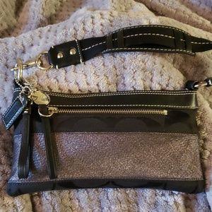 Coach Black Small Handbag